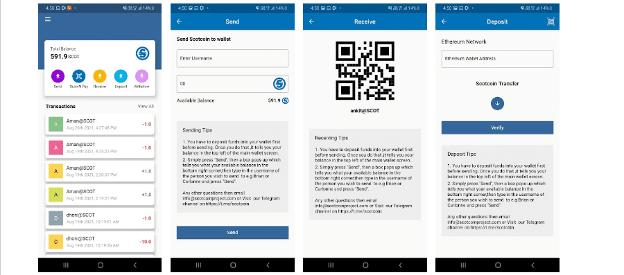 The New Scotwallet Android app is now on Google play store